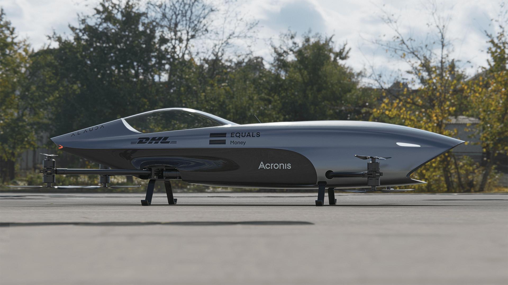 Airspeeder Flying Car Mk3